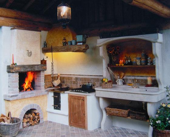 Cucina di montagna cucine parete zaninelli architonic - Cucine di montagna ...