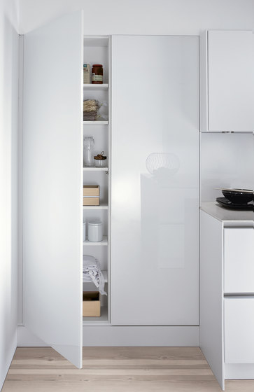 Materials | SimiLaque glossy by SieMatic | Fitted kitchens