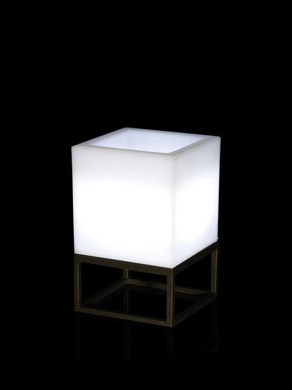 Vela Nano Cubo Llum pot von Vondom | Pflanzgefässe