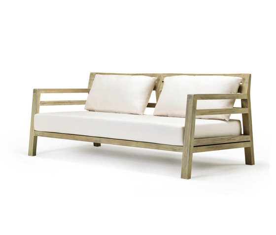 Costes 3-seater sofa by Ethimo | Garden sofas
