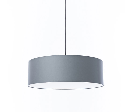 FAB 80 silver grey de Embacco Lighting | Lámparas de suspensión