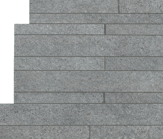 In&Out - Percorsi Extra Muretto Pietra di Vals by Keope | Ceramic mosaics