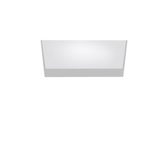 Trybeca 75 rectangle trimless by Reggiani | General lighting