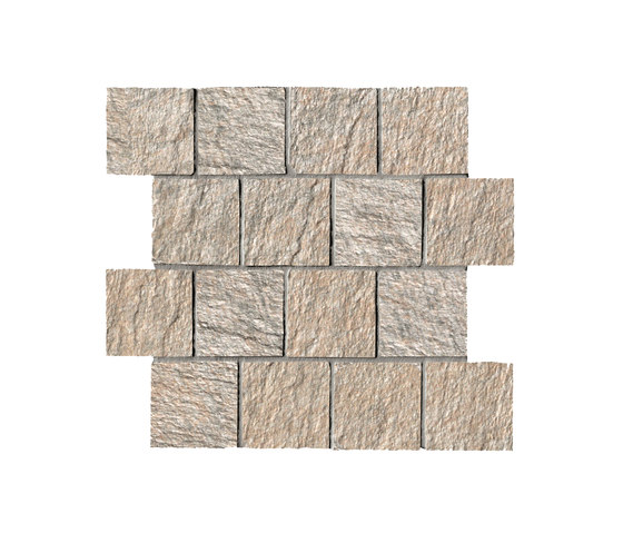 In&Out - Percorsi Quartz Mosaico Sand by Keope | Ceramic mosaics