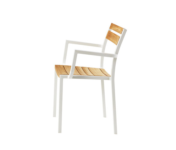 Meridien dining armchair by Ethimo | Garden chairs
