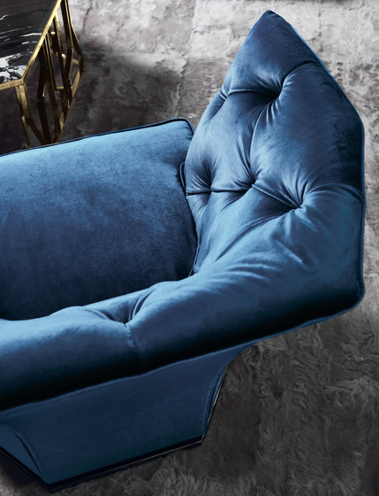 Saki by Longhi S.p.a. | Armchairs