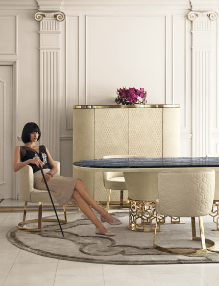 Clairmont by Longhi S.p.a. | Dining tables