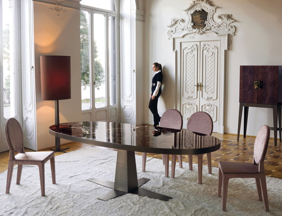 Rim by Longhi S.p.a. | Dining tables
