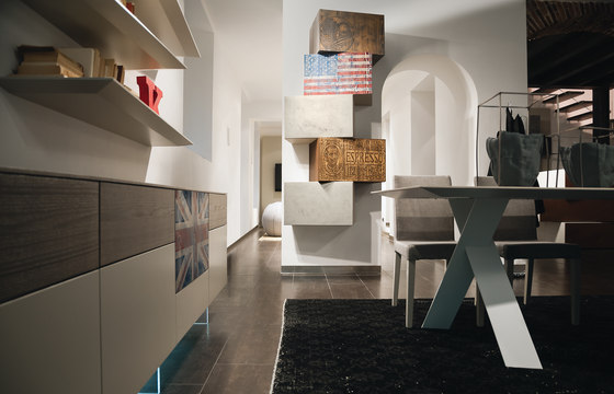InclinART Vintage by Presotto | Shelving