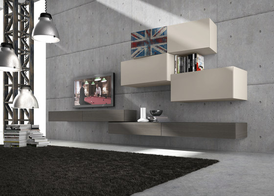 InclinART Vintage by Presotto   Wall storage systems