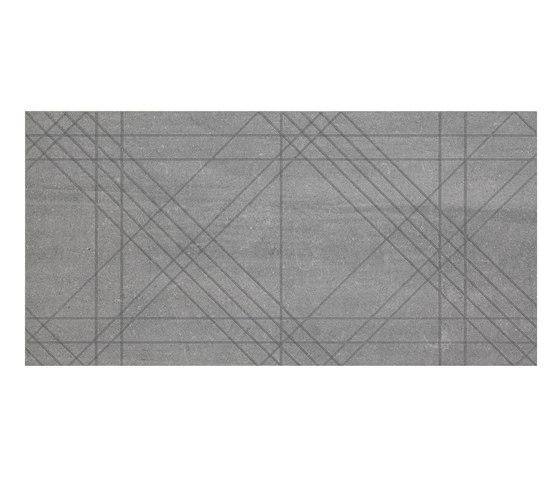 Back Tartan Grey by Keope | Ceramic tiles