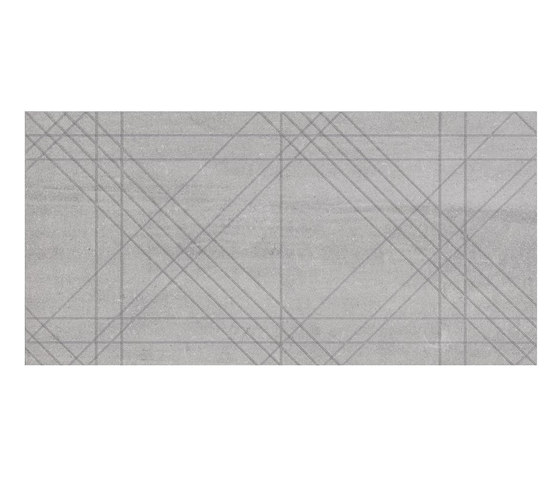 Back Tartan Silver by Keope | Ceramic tiles