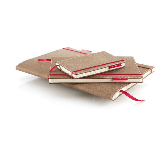 senseBook RED RUBBER by HOLTZ | Notebooks