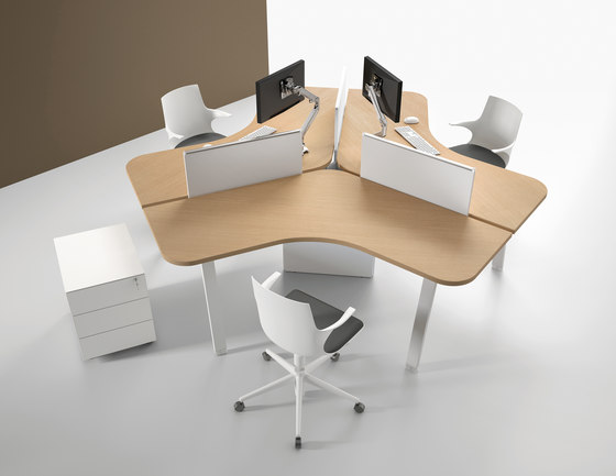 Atreo by ALEA | Desking systems