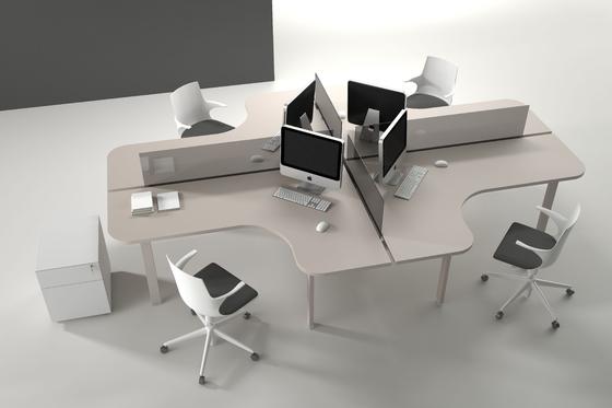 Atreo by ALEA | Desking systems