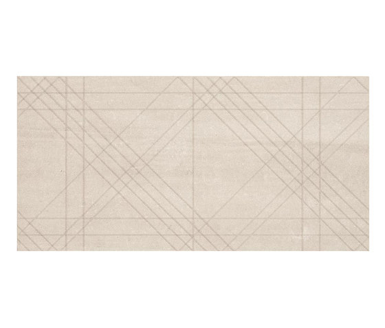 Back Tartan Ivory by Keope | Floor tiles