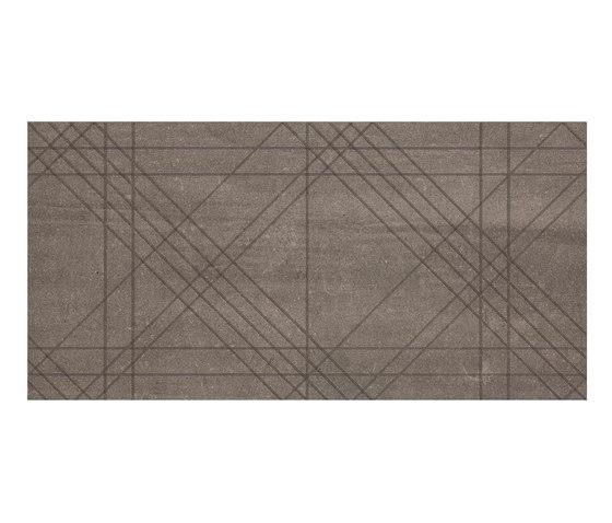 Back Tartan Brown von Keope | Keramik Fliesen