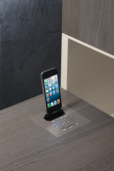 Dockstation by Presotto | Smart phone / Tablet docking stations