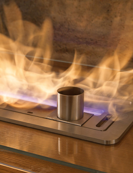 Fireplaces bioethanol by Presotto | Ethanol burner inserts