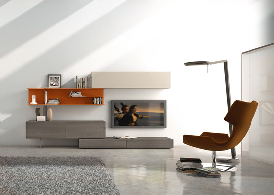 I-modulART_278 by Presotto | Wall storage systems