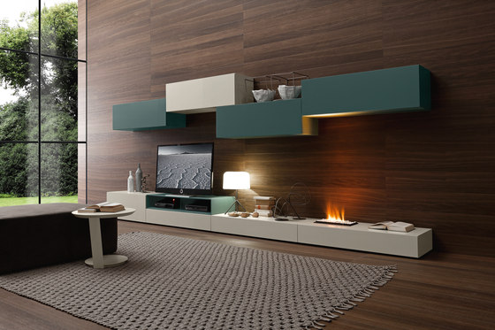 I-modulART by Presotto | Wall storage systems