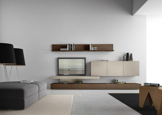 I-modulART_282 by Presotto | Multimedia sideboards