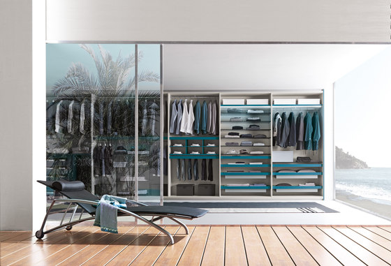 Interni armadio_10 by Presotto | Walk-in wardrobes
