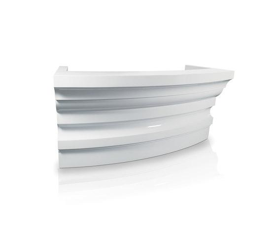 Alzira curva | MG BROSS Mostradores de GAMMA & BROSS | Mostradores de recepción