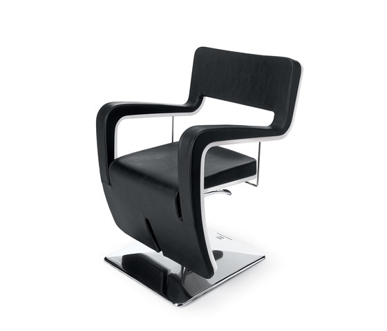 Tsu | MG BROSS Styling Salon Chair by GAMMA & BROSS | Barber chairs