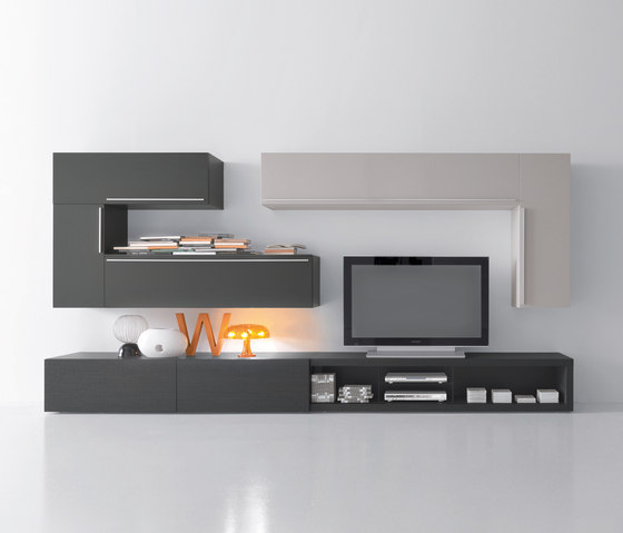 Modus by Presotto | Wall storage systems