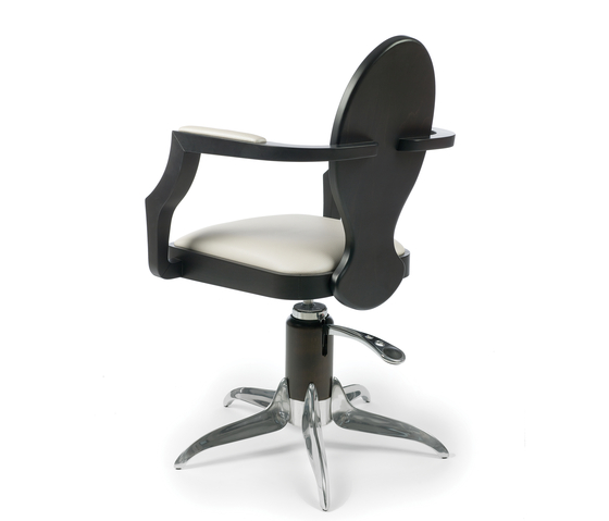 Louis 8   GAMMA STATE OF ART Styling Salon Chairs by GAMMA & BROSS   Barber chairs