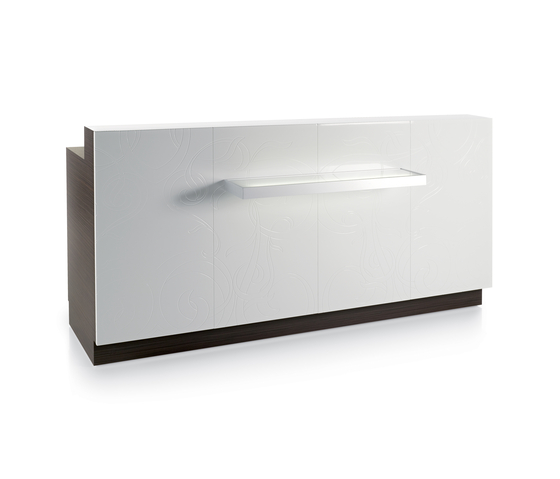 Sunrise Desk | GAMMA STATE OF THE ART Comptoirs de Reception de GAMMA & BROSS | Comptoirs