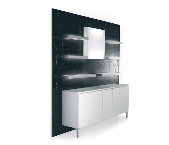 5D5B2M94M61L   GAMMA STATE OF THE ART Salon Retail Displays by GAMMA & BROSS   Modular structural systems