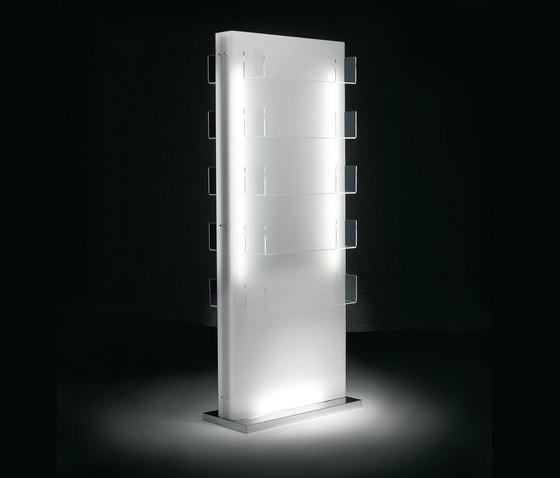 Glow Island Display   GAMMA  Salon Retail Display by GAMMA & BROSS   Display cabinets