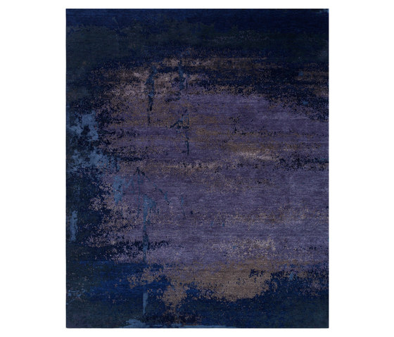 Texture - Shallow true blue by REUBER HENNING | Rugs