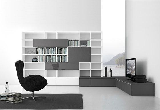 Pari & Dispari Bücherschränke von Presotto | Schränke