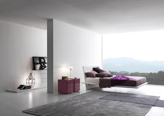 Plana upholstered_a by Presotto | Double beds