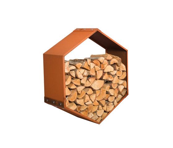 WoodBee Wall by Harrie Leenders | Log holders