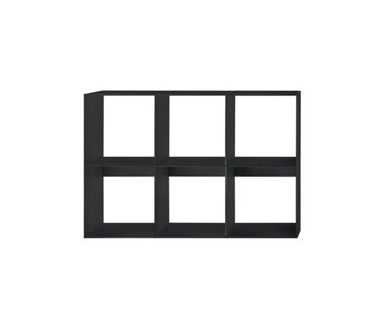 HP 9 Library 3x2 de Hansen | Sistemas de estantería