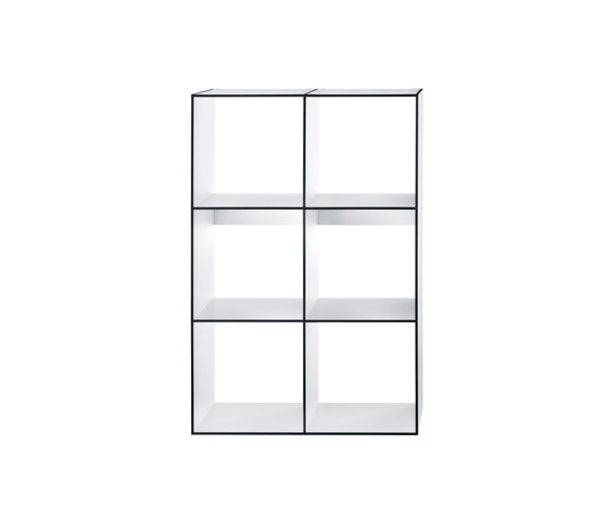 HP 9 Library 2x3 by Hansen | Shelving