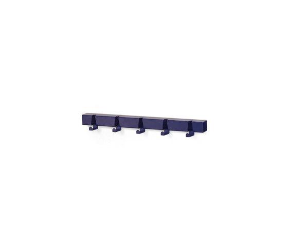 Coatrack By The Meter 5 Hooks blue by Vij5 | Hook rails