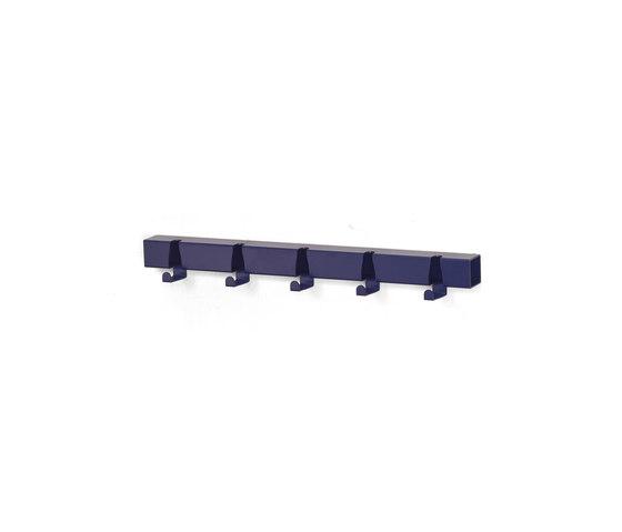 Coatrack By The Meter 5 Hooks | blue by Vij5 | Hook rails