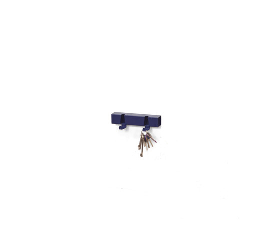 Coatrack By The Meter 2 Hooks blue by Vij5 | Hook rails