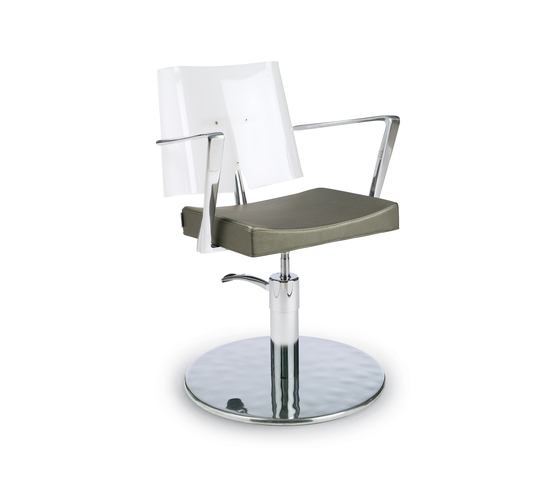 Acrilia | GAMMA STATE OF THE ART Styling salon chair by GAMMA & BROSS | Barber chairs