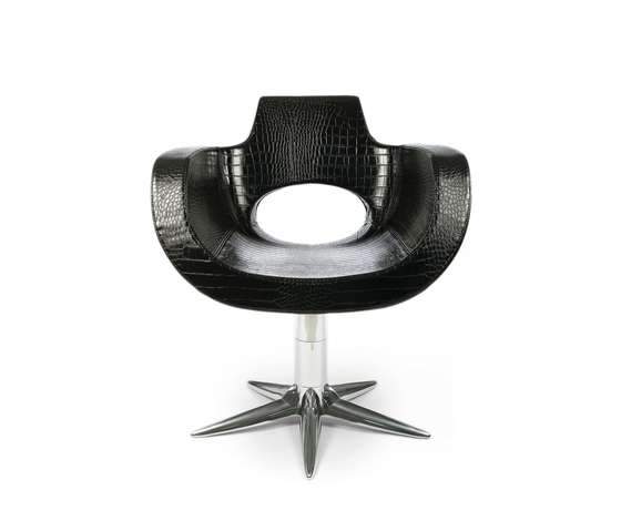 Aureole | GAMMA STATE OF THE ART Styling salon chair by GAMMA & BROSS | Barber chairs