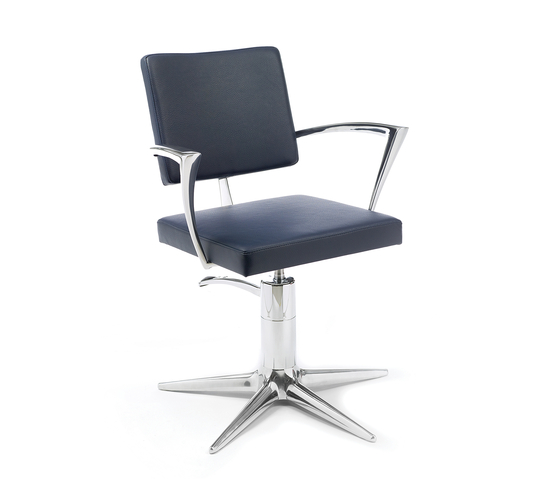 Oneida | GAMMA STATE OF THE ART Styling salon chair by GAMMA & BROSS | Barber chairs