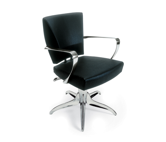 Yula | GAMMA STATE OF THE ART Styling salon chair by GAMMA & BROSS | Barber chairs