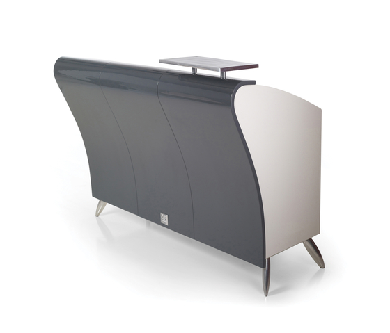 Bolido' | GAMMA STATE OF THE ART Salon Reception Desk by GAMMA & BROSS | Counters
