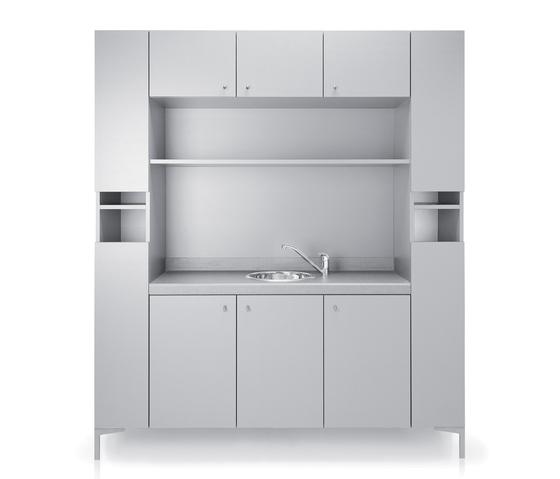 Backsystem 170 | GAMMA STATE OF THE ART Cabinet by GAMMA & BROSS | Wellness storage