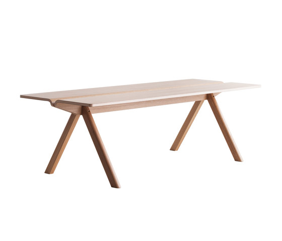 Copenhague Moulded Plywood Table CPH110 by Hay | Meeting room tables